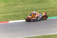 Ντάνιελ Pedrosa στην επίσημη Honda Repsol MotoGP Στοκ Εικόνες
