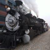 Ντάρανγκο Κολοράντο και στενός σιδηρόδρομος μετρητών Silverton Μηχανή ατμού στοκ φωτογραφία