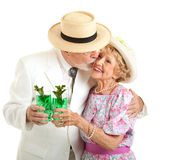 Ντέρπι του Κεντάκυ - νότιο φιλί πρεσβυτέρων στοκ εικόνα