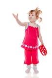 Ντέφι παιχνιδιού κοριτσιών Στοκ εικόνα με δικαίωμα ελεύθερης χρήσης