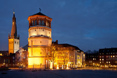 Ντίσελντορφ Altstadt Στοκ φωτογραφία με δικαίωμα ελεύθερης χρήσης