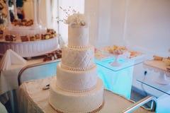 Ντεκόρ δεξίωσης γάμου Στοκ Εικόνα
