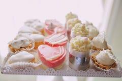 Ντεκόρ δεξίωσης γάμου Στοκ Φωτογραφίες