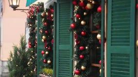 Ντεκόρ οδών Χριστουγέννων φιλμ μικρού μήκους