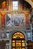 Ντεκόρ της βασιλικής Lateran στην πόλη της Ρώμης Στοκ Φωτογραφίες