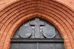 Ντεκόρ του ST John ` s Archcathedral, Βαρσοβία, Πολωνία Στοκ Φωτογραφία