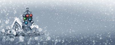 Ντεκόρ Χριστουγέννων για το σχέδιο στοκ εικόνες