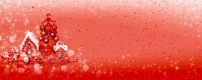 Ντεκόρ Χριστουγέννων για το σχέδιο ελεύθερη απεικόνιση δικαιώματος