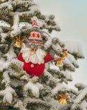Ντεκόρ Χριστουγέννων των ερυθρελατών Μαζική παραγωγή Στοκ εικόνα με δικαίωμα ελεύθερης χρήσης