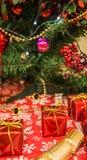 Ντεκόρ Χριστουγέννων Στοκ εικόνες με δικαίωμα ελεύθερης χρήσης