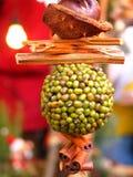 ντεκόρ Χριστουγέννων Στοκ φωτογραφίες με δικαίωμα ελεύθερης χρήσης