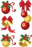 ντεκόρ Χριστουγέννων ελεύθερη απεικόνιση δικαιώματος