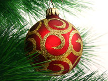 ντεκόρ Χριστουγέννων Στοκ Εικόνα