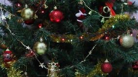 Ντεκόρ χριστουγεννιάτικων δέντρων φιλμ μικρού μήκους