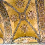 Ντεκόρ apse στην αρχαία βασιλική Hagia Sophia Στοκ φωτογραφία με δικαίωμα ελεύθερης χρήσης