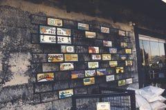 Ντεκόρ Artsy packinghouse του Αναχάιμ στοκ εικόνες