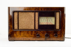 Ντεμοντέ αναδρομικό ραδιόφωνο Στοκ Φωτογραφίες