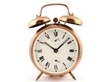 Ντεμοντέ εκλεκτής ποιότητας ρολόι συναγερμών χαλκού Στοκ Εικόνες
