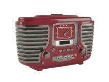 Ντεμοντέ εκλεκτής ποιότητας φορητό ραδιόφωνο. Στοκ φωτογραφία με δικαίωμα ελεύθερης χρήσης