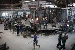 Ντεμοντέ εργαστήριο γυαλιού Στοκ εικόνα με δικαίωμα ελεύθερης χρήσης