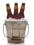 Ντεμοντέ κάδος μπύρας μετάλλων στοκ εικόνες με δικαίωμα ελεύθερης χρήσης