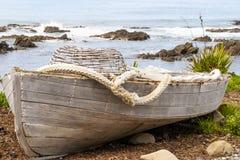 Ντεμοντέ λέμβος αλιείας στοκ φωτογραφία με δικαίωμα ελεύθερης χρήσης