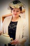 Ντεμοντέ νέα κυρία Στοκ Εικόνα