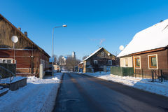 Ντεμοντέ οδός Στοκ Εικόνα