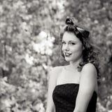Ντεμοντέ πορτρέτο της γυναίκας Στοκ φωτογραφίες με δικαίωμα ελεύθερης χρήσης