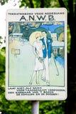 Ντεμοντέ σημάδι Στοκ Φωτογραφίες