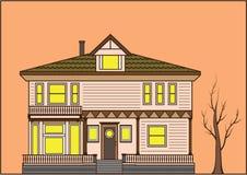Ντεμοντέ σπίτι απεικόνιση αποθεμάτων