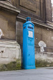 Ντεμοντέ τηλέφωνο Λονδίνο αστυνομίας Στοκ Φωτογραφίες