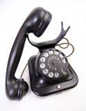 Ντεμοντέ τηλέφωνο στην άσπρη υποστήριξη στοκ εικόνα με δικαίωμα ελεύθερης χρήσης