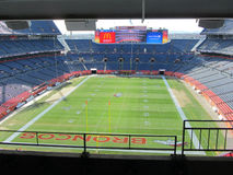 ΝΤΕΝΒΕΡ - 9 ΙΑΝΟΥΑΡΊΟΥ 2014: Τομέας αθλητικής αρχής στο μίλι υψηλό στο Ντένβερ Κολοράντο Στοκ φωτογραφίες με δικαίωμα ελεύθερης χρήσης