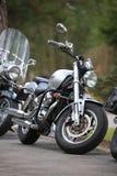Ντεσπεράντο Suzuki VZ400 μοτοσικλετών υπαίθριος μια νεφελώδη ημέρα Μπροστινή όψη στοκ φωτογραφίες με δικαίωμα ελεύθερης χρήσης