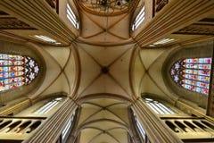 Ντιζόν, Γαλλία - 22 Απριλίου 2016: καθεδρικός ναός Στοκ Φωτογραφίες
