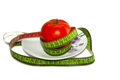 Ντομάτα, απώλεια βάρους, λαχανικά Στοκ εικόνα με δικαίωμα ελεύθερης χρήσης
