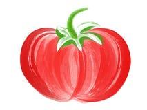 ντομάτα βουρτσών τέχνης Στοκ φωτογραφία με δικαίωμα ελεύθερης χρήσης