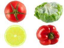 Ντομάτα λεμονιών πιπεριών Στοκ εικόνα με δικαίωμα ελεύθερης χρήσης