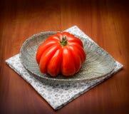 Ντομάτα καρδιών βόειου κρέατος Στοκ Φωτογραφία