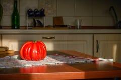 Ντομάτα καρδιών βόειου κρέατος Στοκ φωτογραφίες με δικαίωμα ελεύθερης χρήσης
