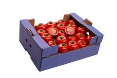 ντομάτα κιβωτίων Στοκ εικόνα με δικαίωμα ελεύθερης χρήσης