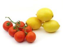 ντομάτα λεμονιών Στοκ Φωτογραφίες