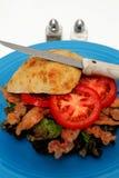 ντομάτα μαρουλιού μπέϊκον Στοκ φωτογραφία με δικαίωμα ελεύθερης χρήσης