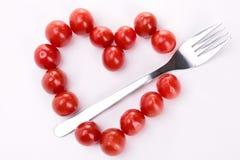 Ντομάτα μορφής καρδιών Στοκ φωτογραφία με δικαίωμα ελεύθερης χρήσης