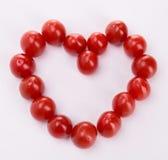 Ντομάτα μορφής καρδιών Στοκ εικόνα με δικαίωμα ελεύθερης χρήσης