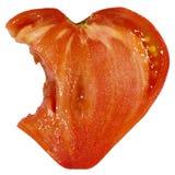 Ντομάτα μορφής καρδιών Στοκ Φωτογραφία