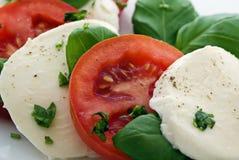 ντομάτα μοτσαρελών Στοκ Εικόνες