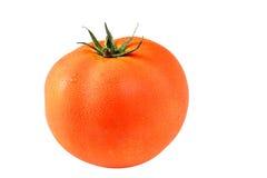 Ντομάτα που απομονώνεται στο άσπρο υπόβαθρο Στοκ φωτογραφία με δικαίωμα ελεύθερης χρήσης