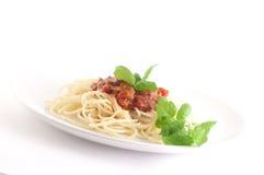 ντομάτα σάλτσας ζυμαρικών στοκ εικόνα με δικαίωμα ελεύθερης χρήσης